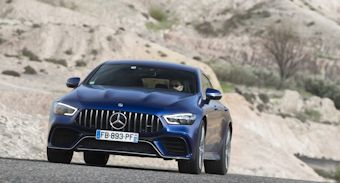 mercedes amg gt coupe 4 portes 2019 2020 prix tarifs neuf occasion infos