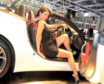 Hotesse sexy salon auto paris 2012 photo for Salon high tech paris 2017