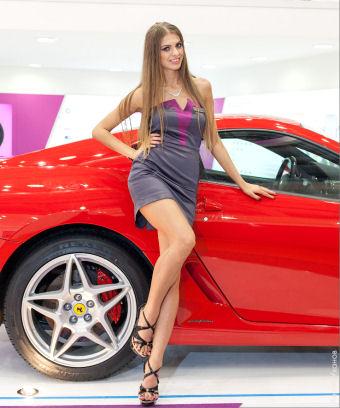 Salon Automobile Geneve 2016 Hotesses Sexy Photos